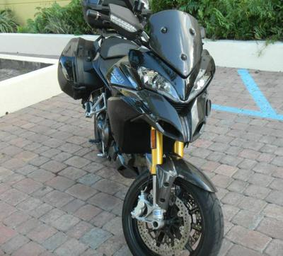 Black 2011 Ducati Multistrada