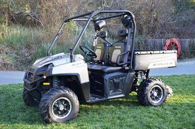 2011 Polaris Ranger 800 Crew 4X4 (this photo is for example only; please contact seller for pics of the actual 4X4 for sale in this classified)