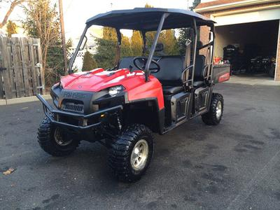 2011 Polaris RANGER XP CREW 800 EFI (this photo is for example only; please contact seller for pics of the actual used Polaris Ranger for sale)