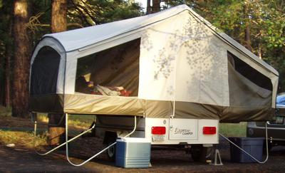 2011 Viking Express Motorcycle Tent Trailer