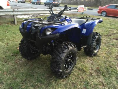 2011 Yamaha Grizzly Blue