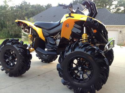 2012 CAN AM RENEGADE for Sale PERFECT w NICE ACCESSORIES