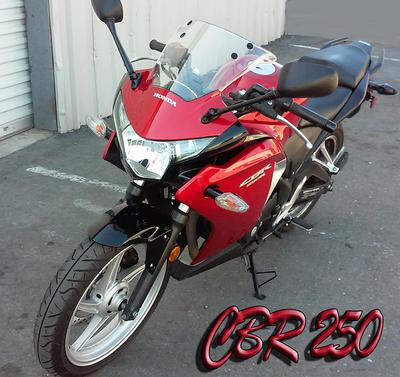 2012 Honda CBR250 for Sale In Sacramento CA California