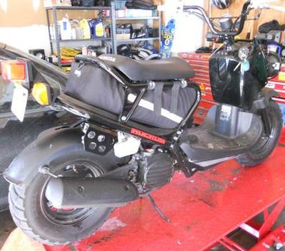 2012 honda ruckus for sale barely used. Black Bedroom Furniture Sets. Home Design Ideas