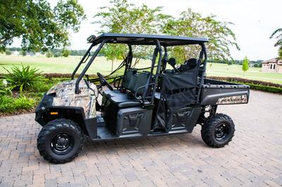2012 Polaris 4x4 Ranger Camo Crew Cab for Sale