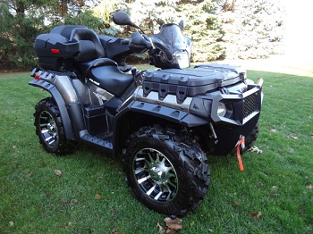 2012 Polaris Sportsman 850 XP Touring Limited Edition (example only)