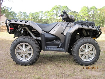 2012 Polaris Sportsman XP 850 EFI with Electric Power Steering