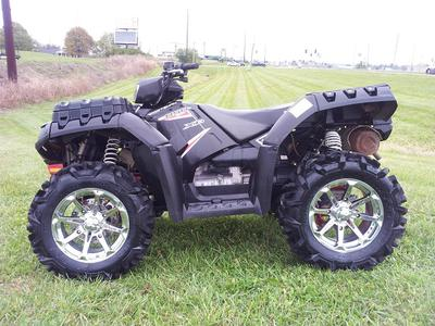 2013 POLARIS SPORTSMAN 850 XP (this photo is for example only; please contact seller for pics of the actual quad ATV for sale in this classified)