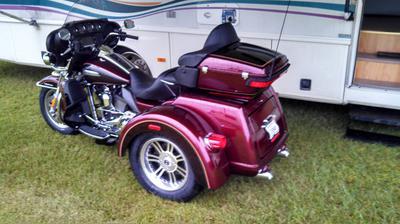 2014 Harley Davidson Ultraglide Classic Trike for sale in Pensacola Florida