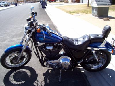 1991 Harley Davidson FXR Super Glide Low Rider Lowrider (this photo is for example only; please contact seller for pics of the actual motorcycle for sale in this classified)