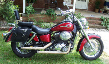 2003 HONDA SHADOW ACE 750 DELUXE motorcycle