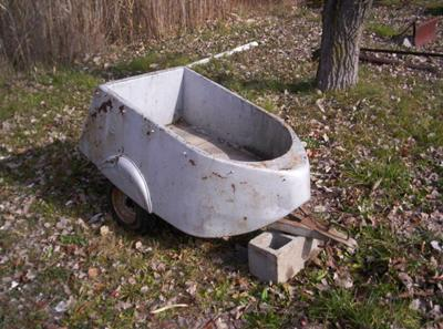 Antique Motorcycle Cart