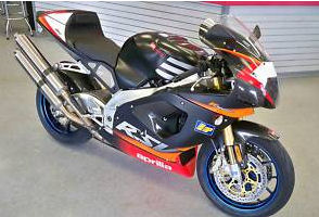 2002 Aprilia RSV Mille R 1000 red black white