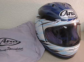 arai full face motorcycle helmet DOT racing