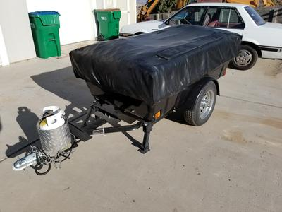 2007 Aspen Classic motorcycle tent trailer for sale in Nevada NV
