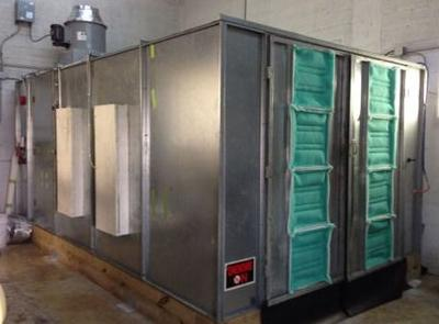 Automotive Spray Paint Booth for Sale Cheap; Used Very Little
