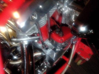 Ironhead bottom end/shovel head top end 106