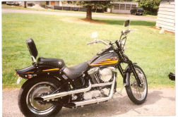 1996 Springer Soft tail BADBOY