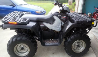 Black Barely Used 2007 Polaris Sportsman 800 EFI 4x4 (example only; please contact seller for pics)