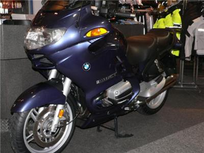 Baritz Blue BMW Motorcycle R1150RT