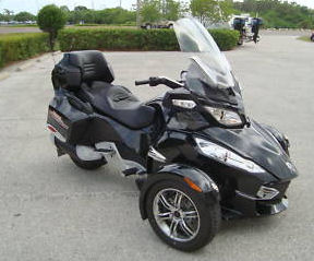 2010 Can-Am RT-S SM5 Spyder Spyder RT-S SM5 can am 3 wheel motorcycle