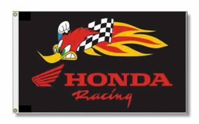 CHECKERED HONDA FLAG