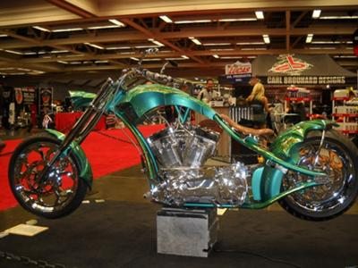 Sacramento easyriders show/3rd judged radical custom Built Motorcycle