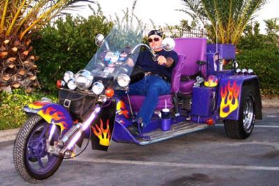 Ron & 1999 Custom VW Trike Volkswagen