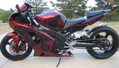 Custom 2003 Kawasaki 636