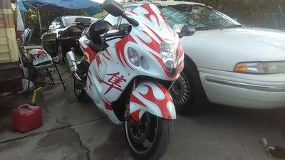 2004 Suzuki Hayabusa 1300 motorcycle for sale by owner