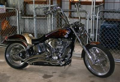 Custom 2005 Harley Davidson Softail Deuce