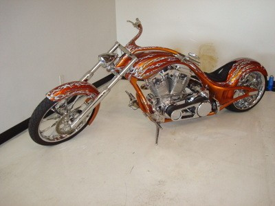 Custom Built 2007 Custom Pro Street Prowler Motorcycle stretched 6 inches