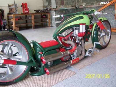 Custom 2008 Pro Street Motorcycle