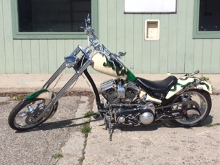 Custom build, Prostreet softail chopper, less than 200 miles motorcycle
