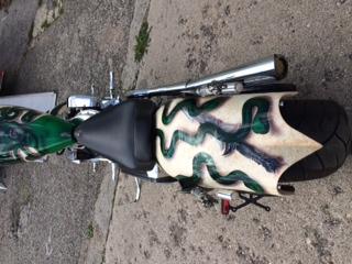 Custom built, Prostreet softail chopper motorcycle