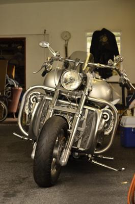 Custom Built BOSS HOSS Motorcycle