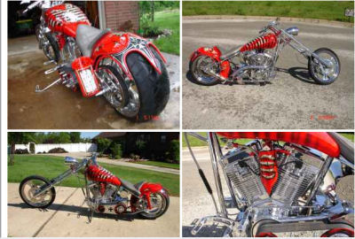 DAYTONA SPECIAL CHOPPER (example only. Not the motorcycle for sale)