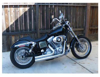 Custom Harley Davidson Police Motorcycle