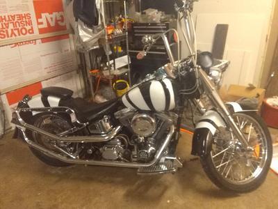 1992 Harley Fatboy Zebra Motorcycle for sale in FL