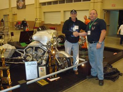 Trophy Winner Custom Harley V Rod w over $90,000 Invested Memphis Belle Custom Motorcycle Paint Job and MORE