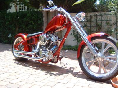 Custom One-Off Chopper with Daytec Rigid Frame