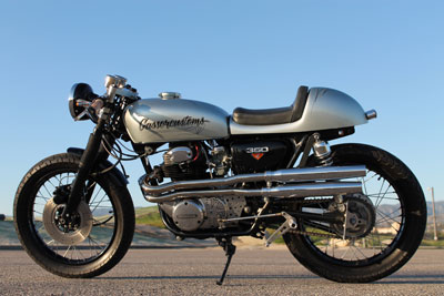 Custom Silver Bullet Motorcycle