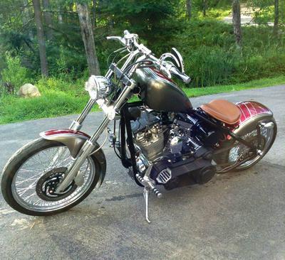 Custom Ultima Chopper Motorcycle This bike is SWEET!