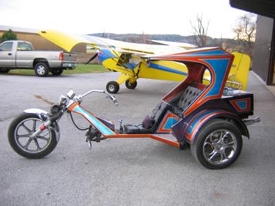 Custom VW TRIKE BEST OF SHOW WINNER