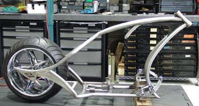 Avon Motorcycle Tires >> Diamond Chassis Frame for Sale w Lusso Wheel
