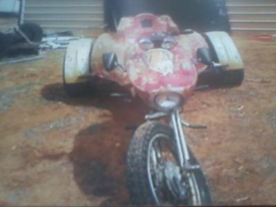 Picture of a Ed Roth Trike or...