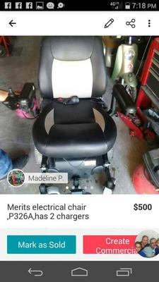 Electric Scooter Chair for Sale Merits p326A electric mobility scooter