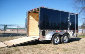 trailer enclosed motorcycle