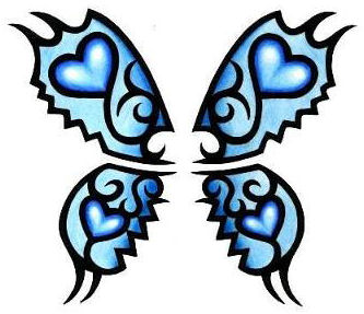 Free Butterfly Tattoos-3