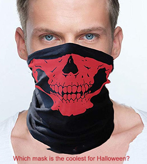 halloween biker motorcycle face mask